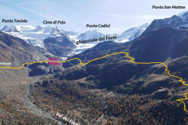 sentiero glaciologico Caritas Lodigiana