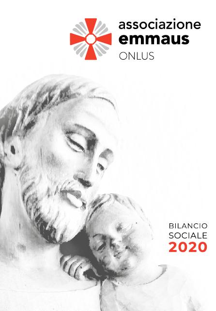 Copertina Bilancio Sociale 2020 Emmaus Onlus Caritas Lodigian