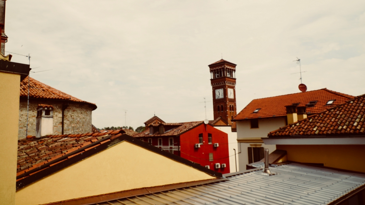 Vista su Lodi da via San Giacomo